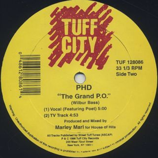 PHD / Kick That Shit And Get High label
