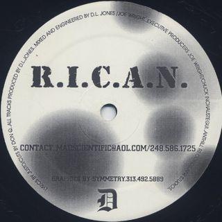 Rican / Blue Martini back