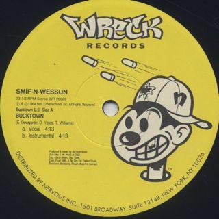 Smif N Wessun / Bucktown c/w Let's Get It On