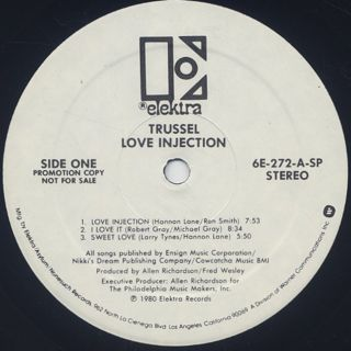 Trussel / Love Injection label
