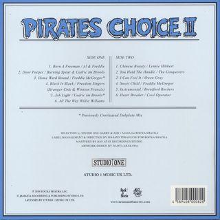 V.A. / Pirates Choice 2 (LP) back