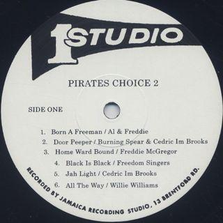 V.A. / Pirates Choice 2 (LP) label
