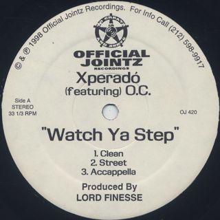 Xperadó / Watch Ya Step back