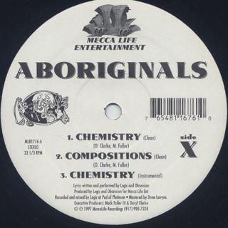 Aboriginals / Chemistry back