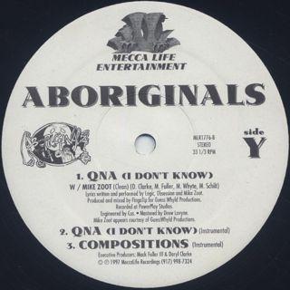 Aboriginals / Chemistry label