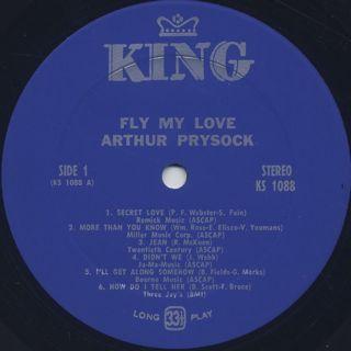 Arthur Prysock / Fly My Love label
