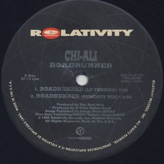 Chi-Ali / Roadrunner label