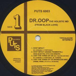 Dr. Oop / Nommo Warfare Vol. 1 back
