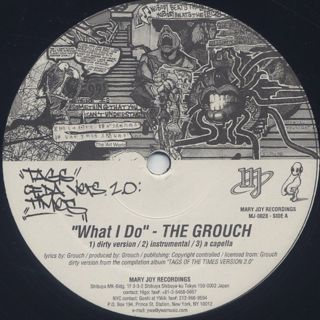 Grouch / Murs / Asop The Black Wolf - What I Do label