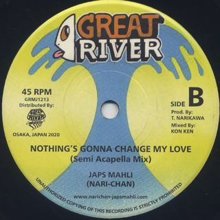 JAPS MAHLI (Nari-Chan) / Nothing's Gonna Change My Love label