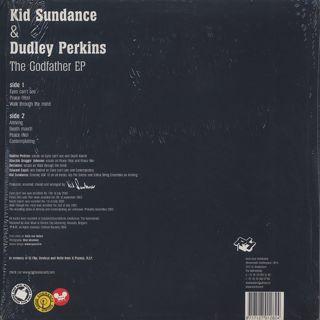 Kid Sundance & Dudley Perkins / The Godfather EP back