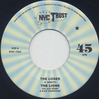 Lions / The Loser back