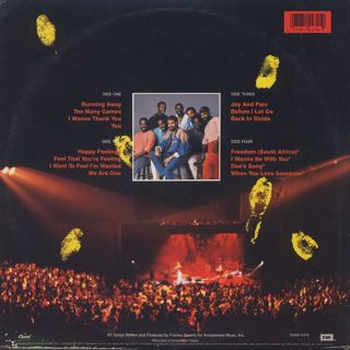 Maze Featuring Frankie Beverly / Live In Los Angels back