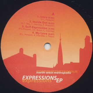 North West Metropolis / Expressions EP label