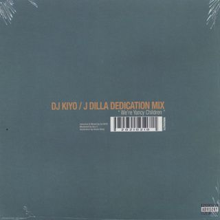 DJ Kiyo / J Dilla Dedication Mix back