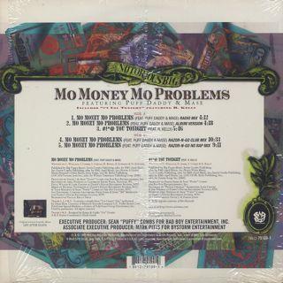 Notorious B.I.G. / Mo Money Mo Problems back