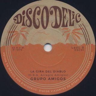 Via Libre / Chi Chi (Mentira) c/w Grupo Amigos / La Gira Del Diablo label