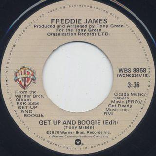 Freddie James / Get Up And Boogie (45)