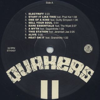 Quakers / II - The Next Wave label