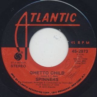Spinners / We Belong Together c/w Ghetto Child back