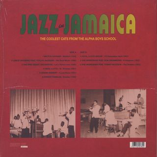 V.A. / Jazz in Jamaica - The Coolest Cats From The Alpha Boys School back