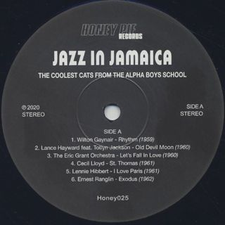 V.A. / Jazz in Jamaica - The Coolest Cats From The Alpha Boys School label