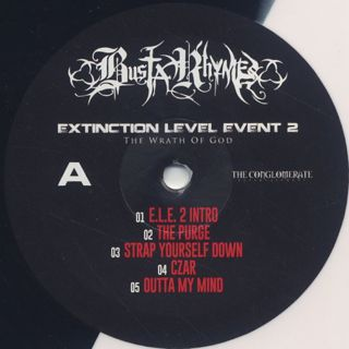 Busta Rhymes / Extinction Level Event 2: The Wrath Of God label