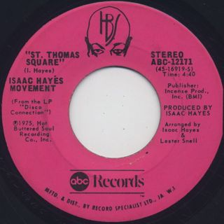 Isaac Hayes Movement / Disco Connection (7
