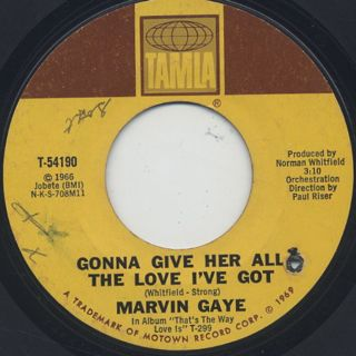 Marvin Gaye / How Can I Forget You back