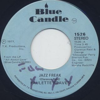 Paulette Reave / Jazz Freak