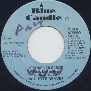 Paulette Reave / Jazz Freak back