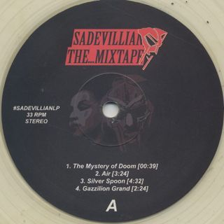 Seanh / Sadevillian The...Mixtape label