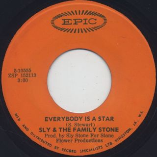 Sly And The Family Stone / Thank you c/w Everybody Is A Star back