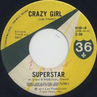 Superstar / Crazy Girl