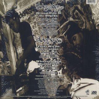 Artifacts / Wrong Side Of Da Tracks back