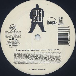 Big Punisher / Still Not A Player label