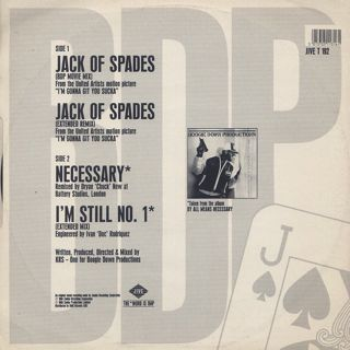 Boogie Down Productions / Jack Of Spades back