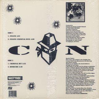 Criminal Nation / Insane back
