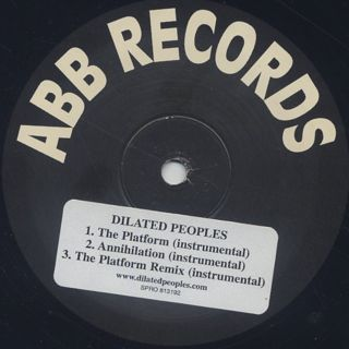 Dilated Peoples / The Platform back