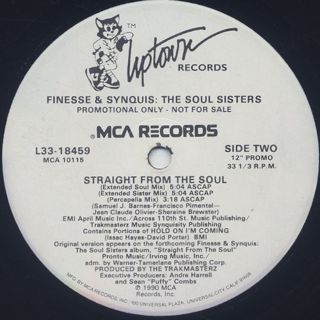Finesse & Synquis / Straight From The Soul label