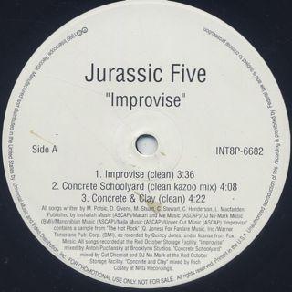 Jurassic 5 / Improvise back