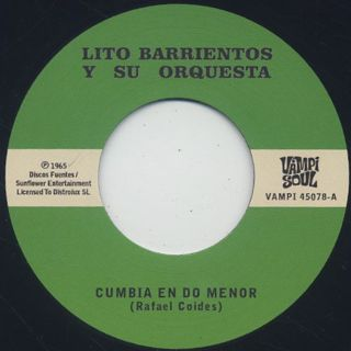 Lito Barrientos Y Su Orquesta / Cumbia En Do Menor back