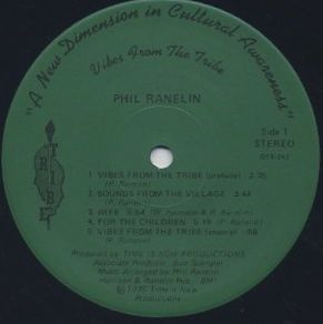 Phil Ranelin / Vibes From The Tribe label