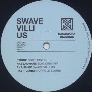 V.A. / Swave Villi Us - Independent Soul 1971-84 label