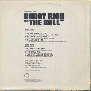 Buddy Rich / The Bull back