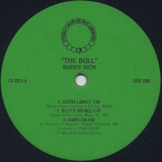 Buddy Rich / The Bull label