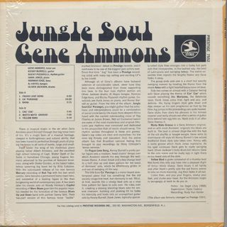 Gene Ammons / Jungle Soul back