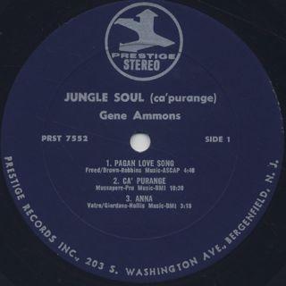 Gene Ammons / Jungle Soul label