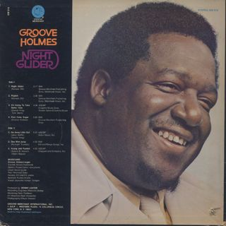 Groove Holmes / Night Glider back