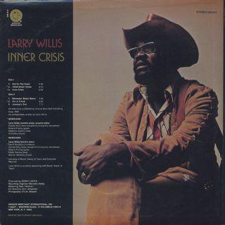 Larry Willis / Inner Crisis back